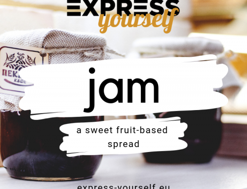 Words with multiple meanings – jam