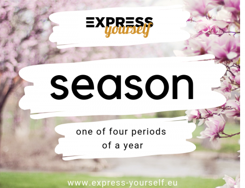 Words with multiple meanings – season