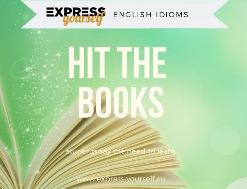 English idioms – hit the books