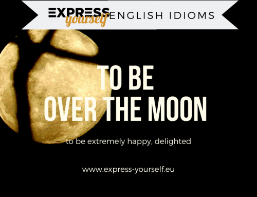 English idioms – over the moon