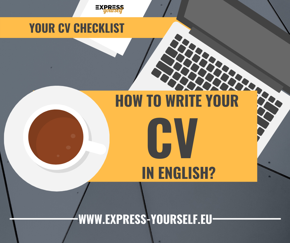 Learn how to write you CV in English