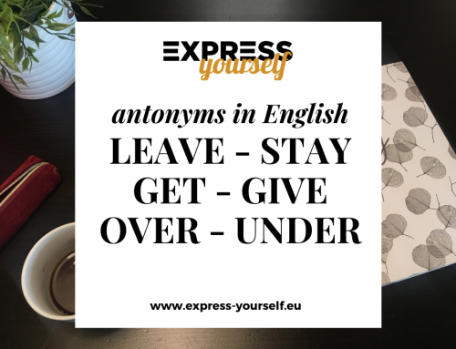 Antonyms in English – collection of antonyms part  10