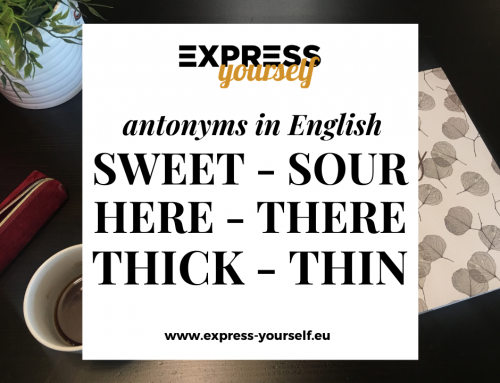 Antonyms in English – collection of antonyms part  14