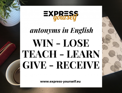 Antonyms in English – collection of antonyms part 2