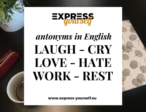 Antonyms in English – collection of antonyms part  3