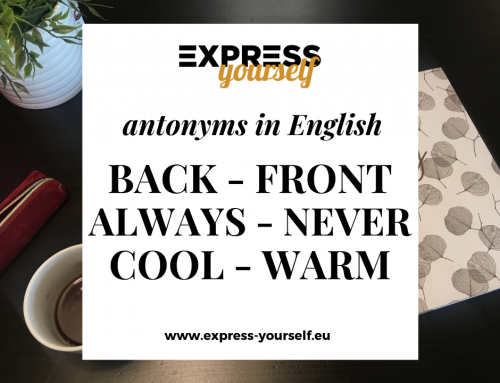 Antonyms in English – collection of antonyms part  6