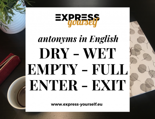 Antonyms in English – collection of antonyms part  7