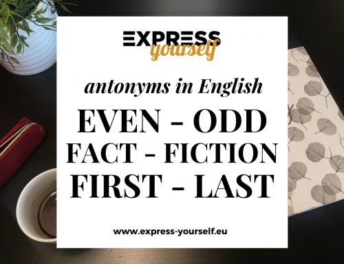 Antonyms in English – collection of antonyms part  8