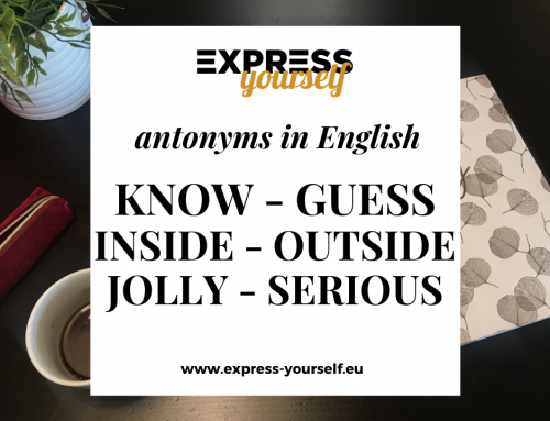 Antonyms in English – collection of antonyms part  9