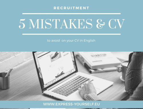 5 mistakes to avoid on your CV in English